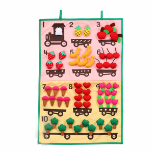 Count 123 Numbers Fabric Hanging Chart