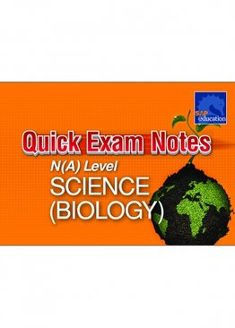 Quick Exam Notes N(A) Level Science (Biology)