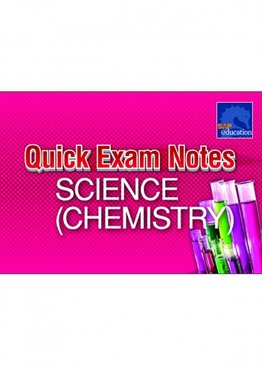 Quick Exam Notes Science (Chemistry)