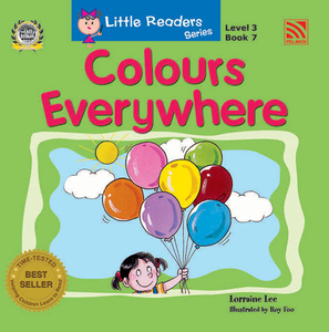 Little Readers Level 3 - Colours Everywhere