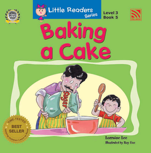 Little Readers Level 3 - Baking A Cake