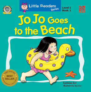 Little Reader Series Level 1 - Jo Jo Goes to The Beach
