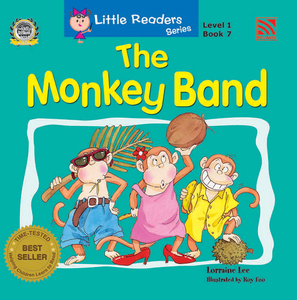 Little Reader Series Level 1 - The Monkey Band