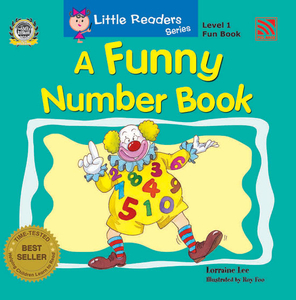Little Reader Series Level 1 - Funny Number Book