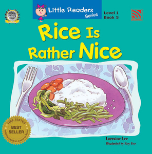 Little Reader Series Level 1 - Rice is Rather Nice