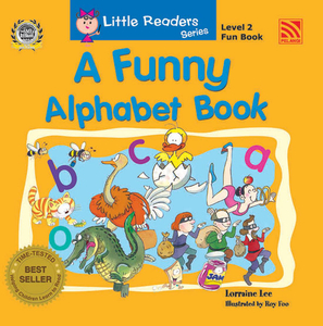 Little Readers Level 2 - Funny Alphabet Book