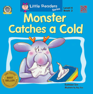 Little Reader Series Level 4 - Monster Catches A Cold