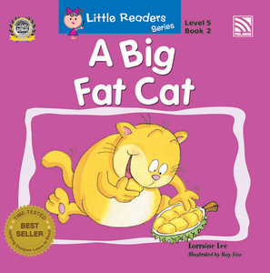 Little Readers Series Level 5 - A Big Fat Cat