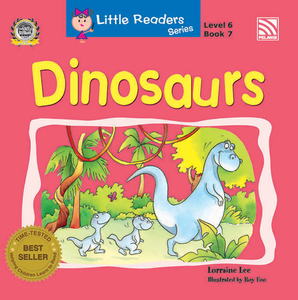 Little Readers Series Level 6 - Dinosaurs