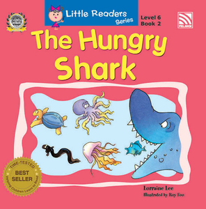Little Readers Series Level 6 - The Hungry Shark