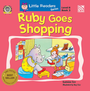Little Readers Series Level 6 - Ruby Goes Shopping