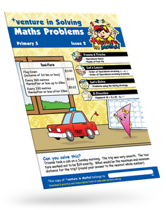 +Venture in Solving Maths Primary 5