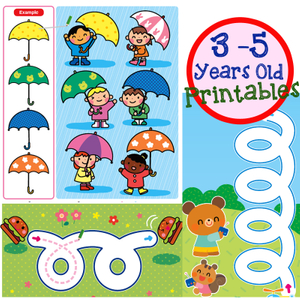 Go Go Series Printables 3-5 Years Old