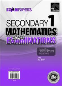 Secondary 1 Mathematics Mock Examinations