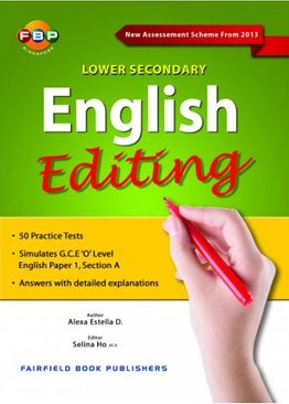 English Editing Lower Secondary