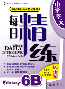 Chinese Daily Intensive Practice 华文每日精练 6B Revised
