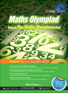 Maths Olympiad Unleash The Maths Olympian In You! (Junior 1) - Revised Edition