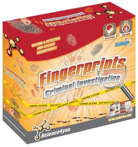 Science4You Criminal Investigation Fingerprints