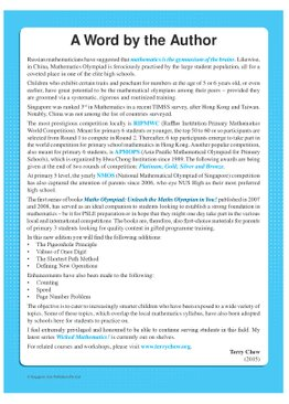 Maths Olympiad Unleash The Maths Olympian In You! (Beginner)