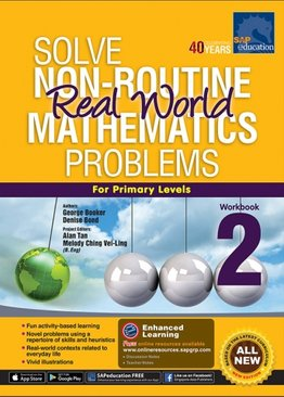 Solve Non-Routine Real World Mathematics Problem Workbook 2