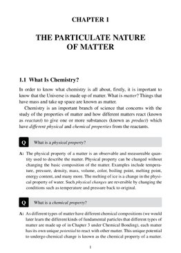 Understanding Basic Chemistry  The Learner's Approach