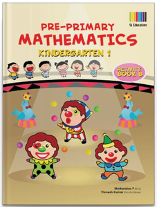Pre-Primary Math Kindergarten 1 Activity Book B