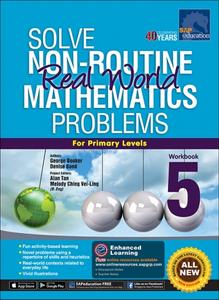 Solve Non-Routine Real World Mathematics Problem Workbook 5