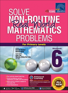 Solve Non-Routine Real World Mathematics Problem Workbook 6