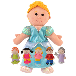 Cinderella Hand and Finger Puppet Set