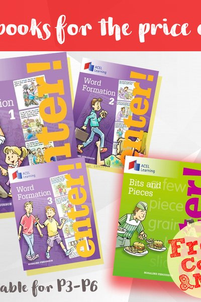 Word Formation Bundle (Books 1-3)
