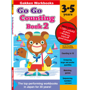 Go Go Counting Book2 3-5