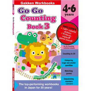 Go Go Counting  Book3 4-6