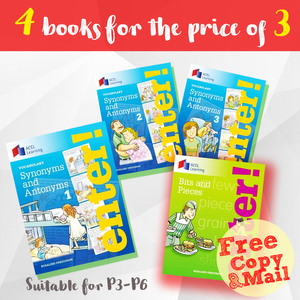 Synonyms and Antonyms Bundle (Books 1-3)