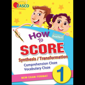 How to Score Synthesis/Transformation Comprehension Cloze Vocabulary Cloze 1