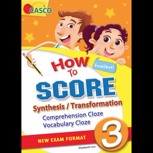 How to Score Synthesis/Transformation Comprehension Cloze Vocabulary Cloze 3
