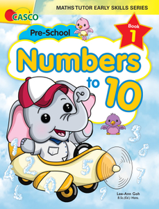 Maths Tutor Early Skills Series Book 1: Numbers to 10