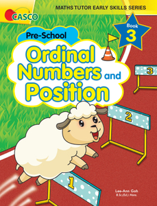 Maths Tutor Early Skills Series Book 3: Ordinal Numbers and Position