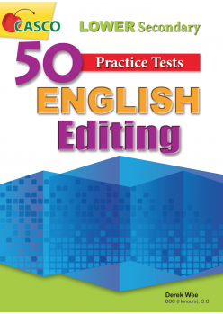 50 Practice Tests Lower Secondary English Editing
