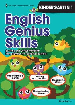 English Genius Skills K1
