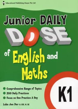Junior Daily Dose of English and Mathematics K1