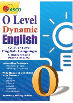 O Level Dynamic English