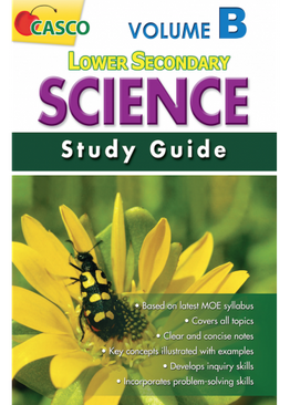 Lower Secondary Science Study Guide Volume B