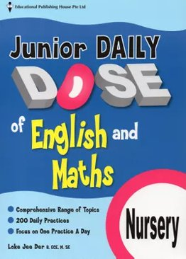 Junior Daily Dose of English and Mathematics Nursery