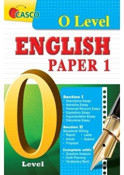 O Level English Paper 1