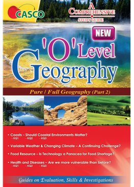O Level Geography Pure Part 2