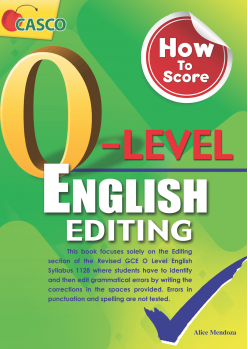 How To Score O-level English Editing