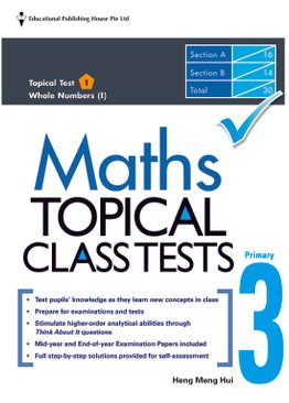 Maths Topical Class Tests 3