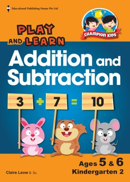 Play and Learn Addition and Subtraction K2