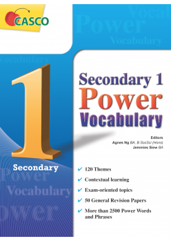 Sec 1 Power Vocabulary