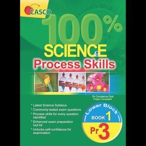 100% Science Process Skills - Primary 3